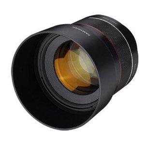 $599 副厂牛头Samyang AF 85mm f/1.4 Sony E 镜头