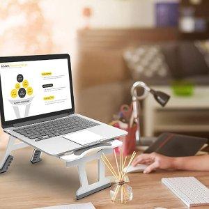 $16.56(原价$41.39) 免税WONDAY 便携式可折叠 三模式 平板/笔记本支架 带手机支架