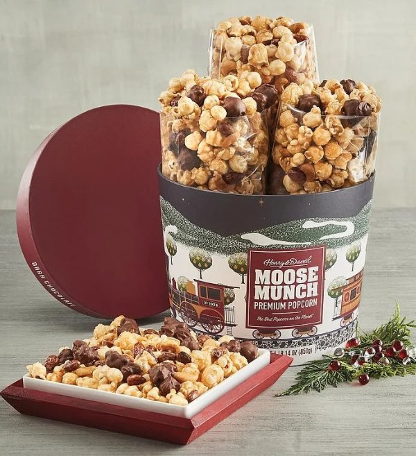 Moose Munch 爆米花礼盒