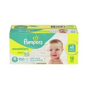 滿$75立減$15Pampers Swaddlers 嬰幼兒尿不濕特賣