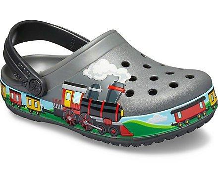 儿童火车洞洞鞋