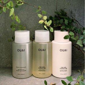 低至5折 €13收300ml卷发洗发水OUAI 洗护发产品热卖 火遍Ins的小众品牌 卡戴珊姐妹都在用