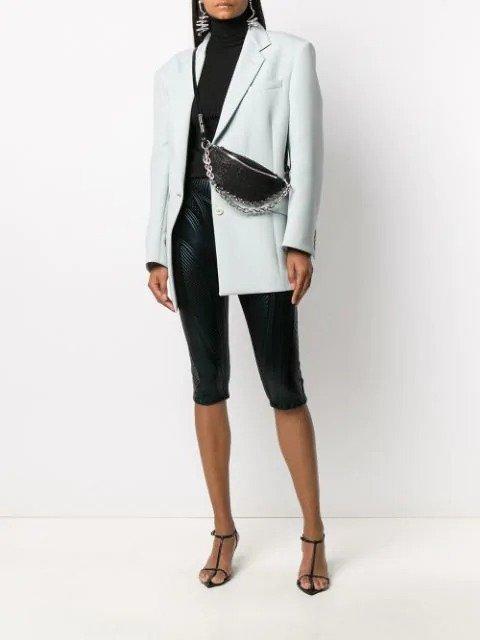 tweed 链条腰包