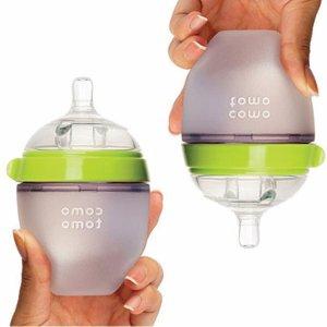 低至8折+无税Comotomo 防胀气硅胶奶瓶热卖 妈妈乳感,宝宝不排斥