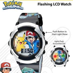 $13.49 可可爱爱Pokemon 宠物小精灵 POK3018 儿童电子手表特卖