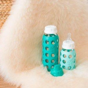 8折 不用定期更换的奶瓶Lifefactory 婴儿玻璃奶瓶、奶嘴、牙胶特卖