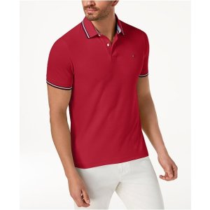 514980a2 Tommy Hilfiger Men's Ricky Striped Slim Fit Polo. Tommy HilfigerMen's  Winston Polo, Created for Macy's