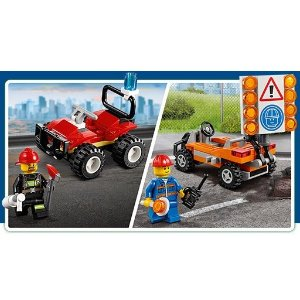 免费 2选1小套装最后一天:LEGO官网 购买City系列玩具满额送礼