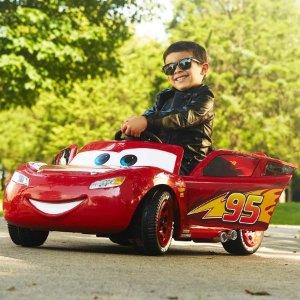 $79 Disney•Pixar Cars 3 Lightning McQueen 6V Battery-Powered Ride On by Huffy