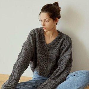 5折起+额外8折+优先发货W Concept 最受欢迎单品闪促开启 收秋冬毛衣、卫衣、外套