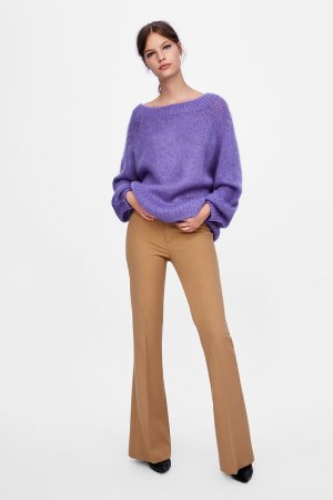 TEXTURED SWEATER - Sweaters-KNITWEAR-WOMAN   ZARA United States