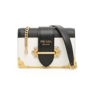 5699fce28637 Prada Quilted Chain Strap Shoulder Bag. PradaCahier Crossbody Bag