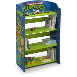 $19.98 (原价$40)Delta Children 忍者神龟图案儿童书架