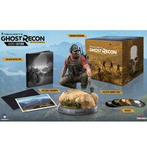 $47.97(原价$79.97)《幽灵行动:荒野》限定版 PS4 实体版 内赠 Nomad 手办