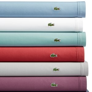 from $11.99Macy's Lacoste Home Solid Cotton Percale