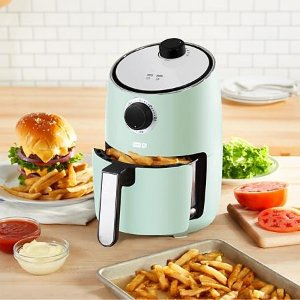 DashShocking Values2-Quart Compact Air Fryer with Nonstick Cooking Basket and 30 Minute Timer (Assorted Colors) - Sam's Club