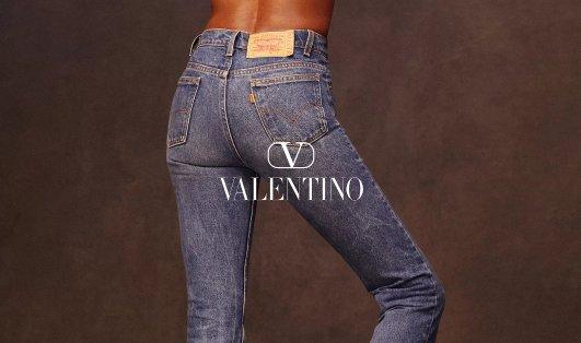 Levi's X Valentino华伦天奴 创意联名!Levi's X Valentino华伦天奴 创意联名!
