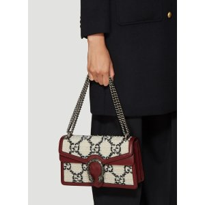 GucciDionysus Tweed Shoulder Bag in Cream
