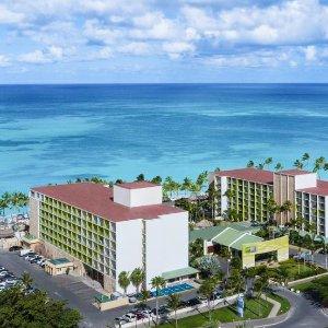 $205起 住宿餐饮娱乐全包加勒比阿鲁巴 Holiday Inn 全包度假酒店