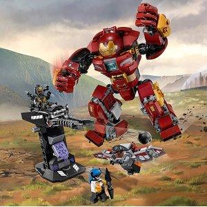 现价 £22.99(原价£29.99)LEGO 乐高 超级英雄系列 76104 钢铁侠反浩克装甲