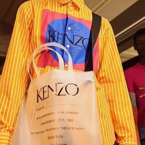 低至5折 + 额外8.5折Kenzo 男士专场 多款T恤$48起,卡夹$55收