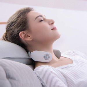 $66.33(原价$99) 杨洋同款 白色补货SKG 智能颈部按摩仪 热敷护颈新姿势 释放颈椎压力