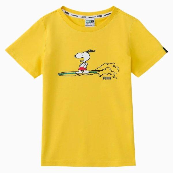x PEANUTS 男童T恤