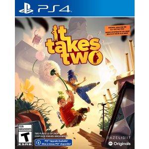 $29.99 (原价$54.99)史低价:《双人成行》PS4 / Xbox 实体版 新一代爆款双人友尽游戏