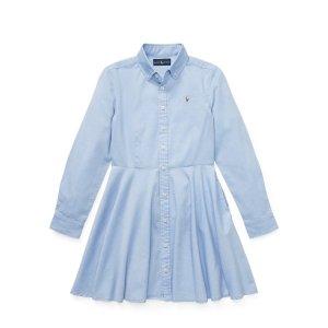 Ralph LaurenCotton Oxford Shirtdress