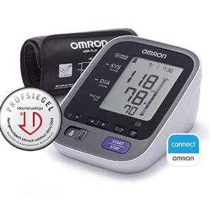 超智能可以蓝牙连接手机APP随时监控血压情况临时:OMRON M700 臂式血压计超值闪购! 原价99.95欧 折后64.9欧