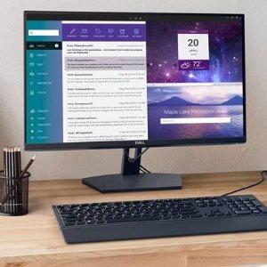 低至6.3折+额外9折Dell 显示器专场 24