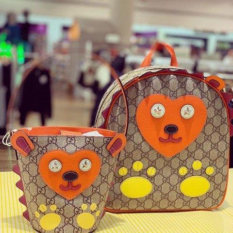 Gucci腰包£260 Chloe菜篮子£70大童大牌包包 定价优势 小仙女背超好看 Gucci Fendi Chloe都在线
