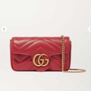 GucciGG Marmont super mini quilted leather shoulder bag