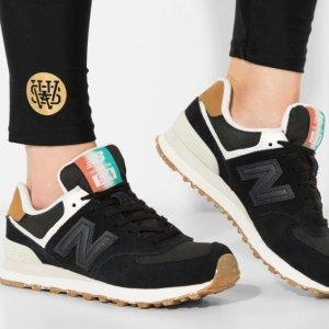 $34.99(原价$129.99) + 免邮New Balance 574 女款休闲运动鞋促销