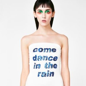 O Mighty Come Dance In The Rain Dress | Dolls Kill