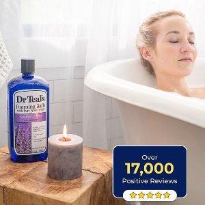 $8.98收1.36KGDr. Teals 超值装薰衣草沐浴盐 舒适健康好睡眠
