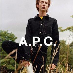 78折 入Dior平价款A.P.C. 新晋法国潮牌火热促销中 包包、女装、男装等你来淘