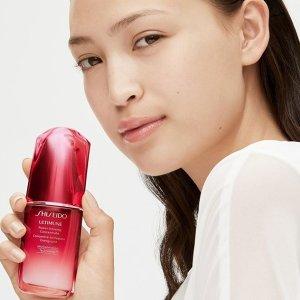 低至5.2折+额外7.1折独家:Shiseido 10月金秋大促 收红腰子精华、眼霜 蓝胖子防晒