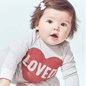 长袖T恤$5起上新:Carter's官网 早春童装低至4折,封面款可凑亲子