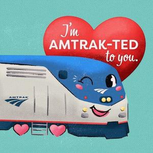 购票买1送1最后一天:Amtrak 全美火车旅行 情人节大促