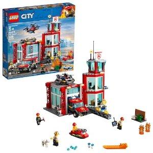 $55.99+$10 Kohls CashLEGO City Fire Station 60215