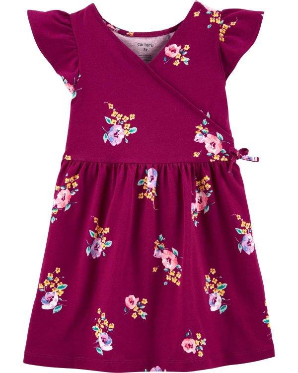 小童花朵裹裙