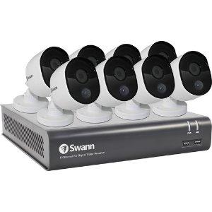 Swann PRO 8-Channel 6-Camera Surveillance System