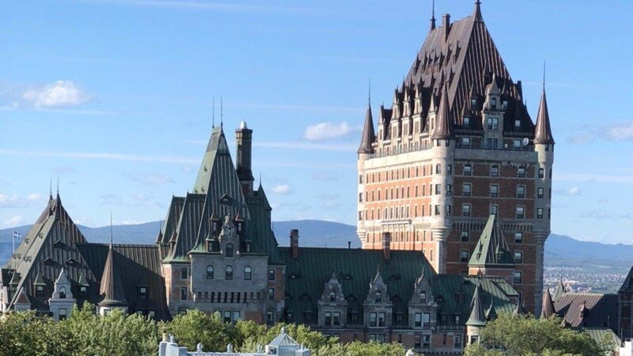 探索[鬼怪]の城   Quebec city ❤️