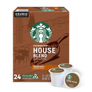 StarbucksStaples Starbucks K-Cup Pods $15 Off on Orders $60+