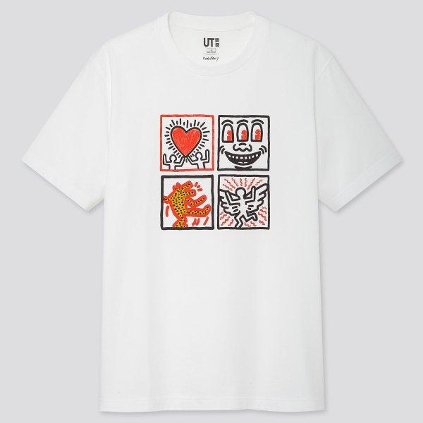 KEITH HARING合作款T恤