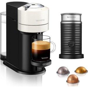 包含打奶泡机 送12颗混合口味胶囊胶囊咖啡机