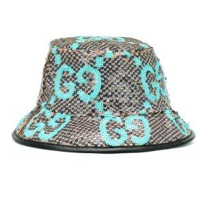 3折起 £77收Acne囧脸渔夫帽折扣升级:Mytheresa 渔夫帽 热夏必备 收Gucci、Burberry、Off White