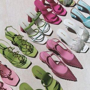 低至2.5折+额外8折折扣升级:Moda Operandi 美鞋专场,细带凉鞋清凉一夏