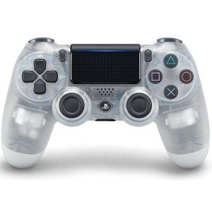 $54.99(原价$74.99)PS4 Crystal 透明版手柄 可连PC